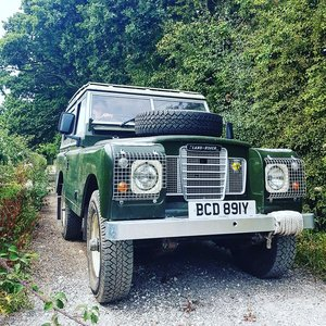 1982 Land rover series 3, petrol, safari roof For Sale