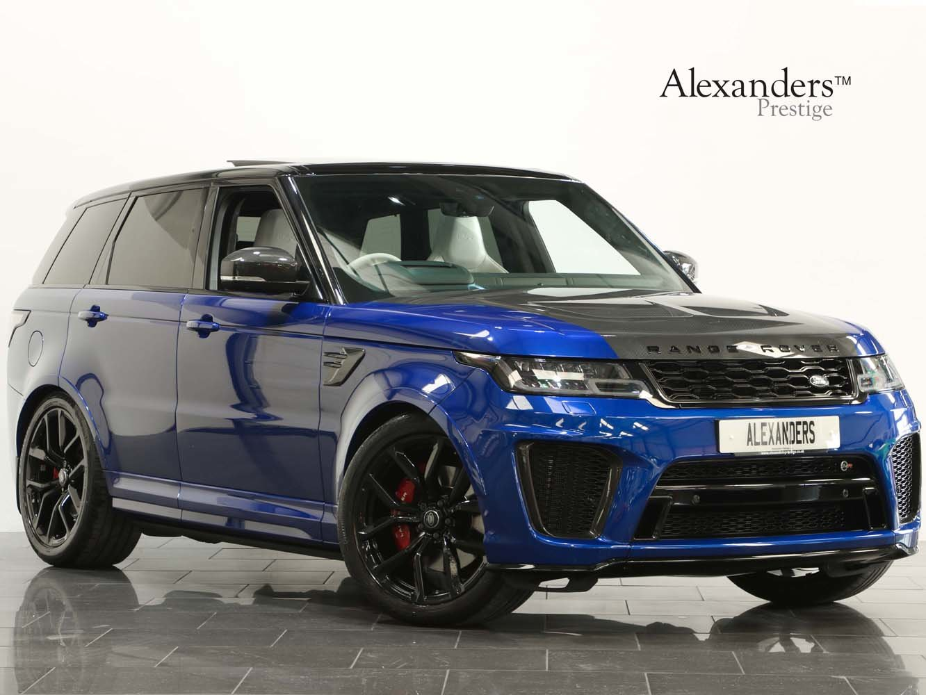 2019 19 69 RANGE ROVER SPORT 5.0 V8 SUPERCHARGED SVR AUTO For Sale (picture 1 of 6)