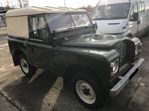 1977 Land Rover Series 3,  Galvanised chassis & bulkhead