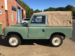 Landrover Series 2a 1970 2.25 petrol Fairley overdrive & FWH