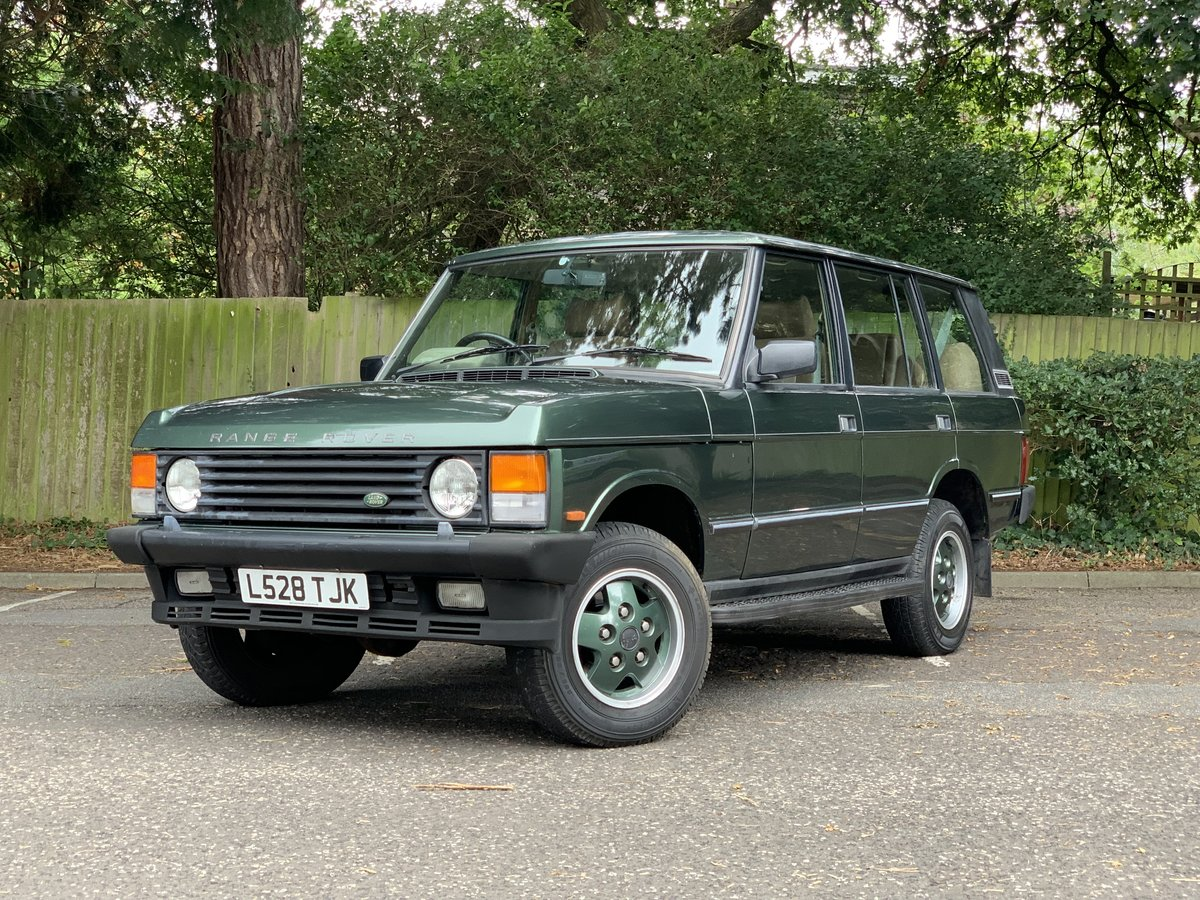 1993 Range Rover LSE 4.2 V8 AUTO For Sale (picture 1 of 6)