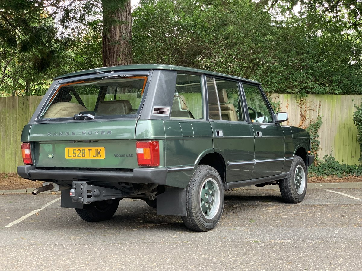 1993 Range Rover LSE 4.2 V8 AUTO For Sale (picture 3 of 6)