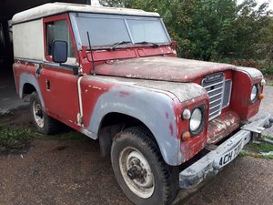 1982 Landrover series 3 ** SOLID EASY PROJECT**