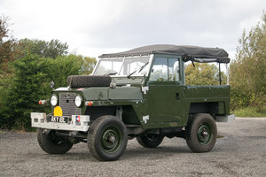 1968 Land Rover Series 2a Lightweight Military Galvanised Chassis