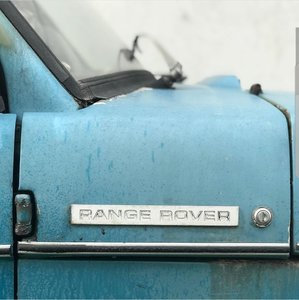 Range Rover December 1970 suffix a chassis 2**a