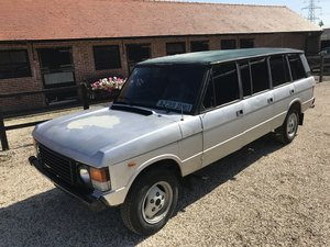 1983 ex sultan of oman classic range rover 6 door 1 owner  For Sale