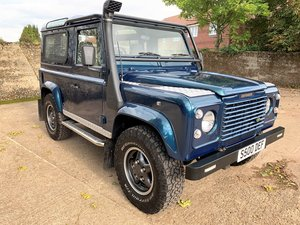 1998 Defender 90 50th anniversary 4.0V8 auto + LPG