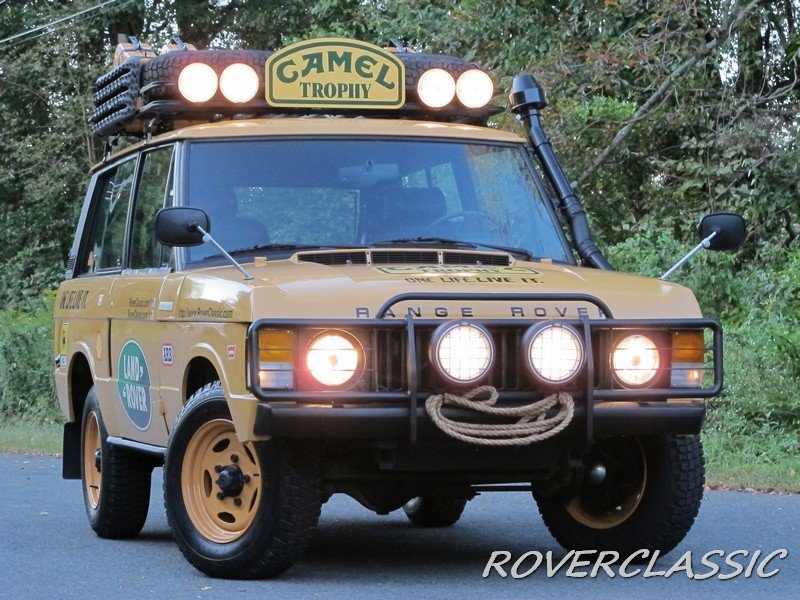1975 land rover range rover camel trophy tribute For Sale (picture 1 of 6)