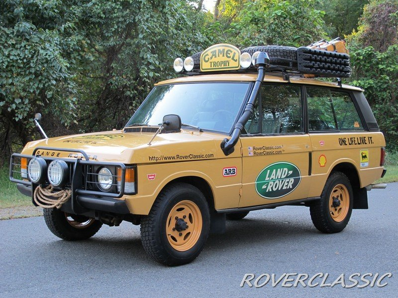 1975 land rover range rover camel trophy tribute For Sale (picture 2 of 6)