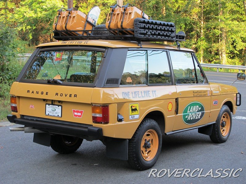 1975 land rover range rover camel trophy tribute For Sale (picture 3 of 6)
