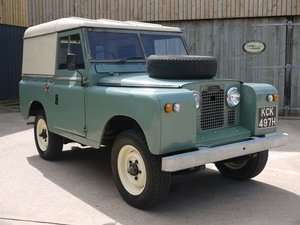 1961 Land Rover Series II 88 Hard Top