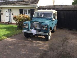 1976 Landrover Series 2.25 diesel
