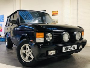 1992 RANGE ROVER CLASSIC OVERFINCH 680 CS - LOW MILEAGE RARE CAR SOLD