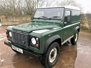 2002 Defender 90 TD5 hardtop 101000m + 12M MOT For Sale