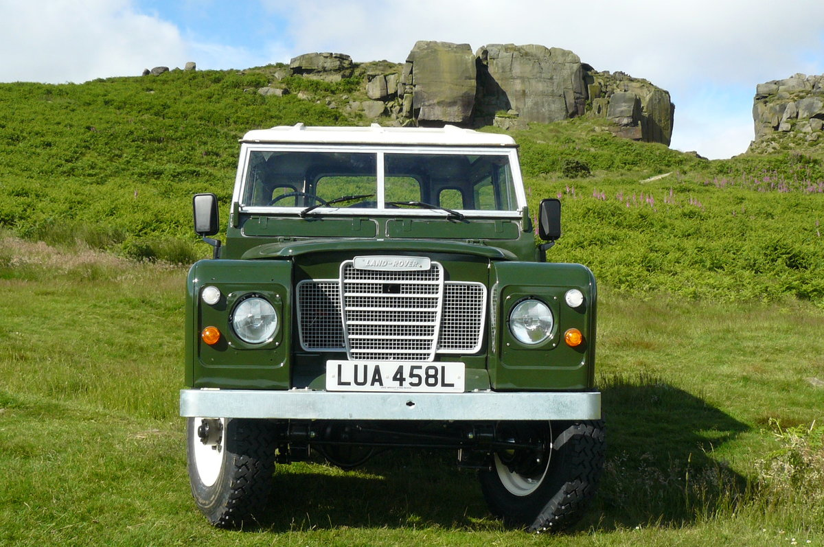 1972 LAND ROVER SERIES 3 PETROL For Sale (picture 2 of 6)