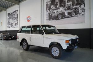 LAND ROVER RANGE ROVER 2 Door Body Off Restored (1977)