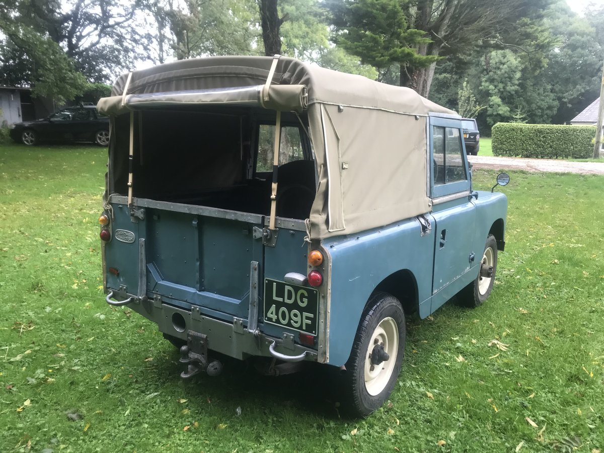 1967 Land Rover Series 2a 88 SOLD (picture 3 of 6)