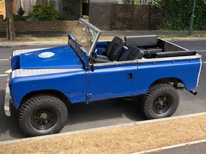 1963 Land Rover Series 2 SWB Soft Top V6 Powered