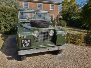 1960 Land Rover Series II 88 Petrol