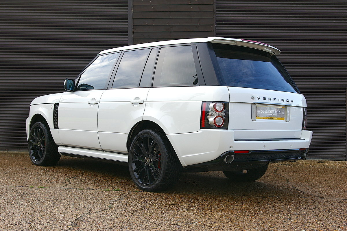 2011 Range Rover 4.4 TD V8 Vogue OVERFINCH GT Auto (56,342 miles) For Sale (picture 3 of 6)