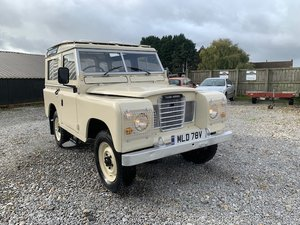 1979 Land Rover® Series 3 *Station Wagon* (MLD)