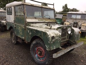 1953 Left Hand Drive Land Rover Series 1 80 inch