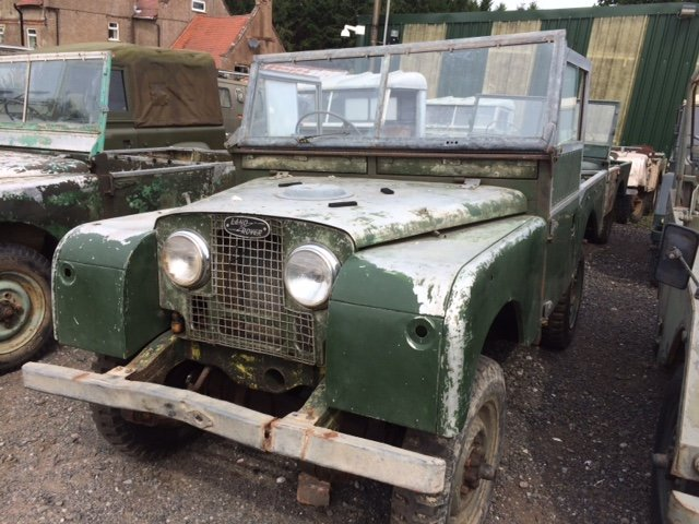 1955 Series 1 Land rover - Excellent Chassis, Bulkhead, Body For Sale (picture 1 of 6)