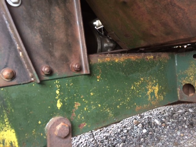 1955 Series 1 Land rover - Excellent Chassis, Bulkhead, Body For Sale (picture 3 of 6)