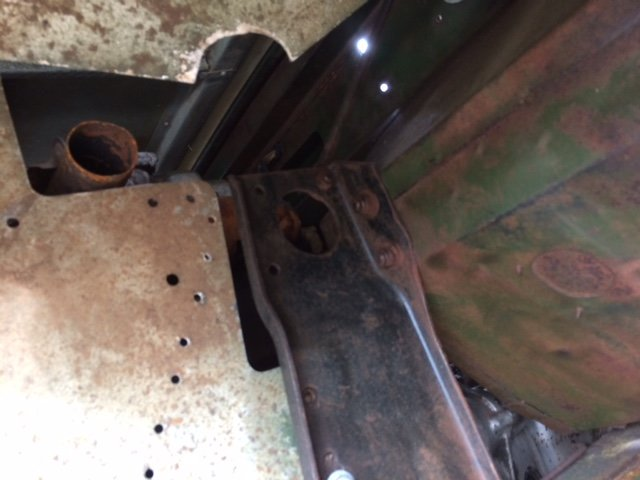 1955 Series 1 Land rover - Excellent Chassis, Bulkhead, Body For Sale (picture 4 of 6)