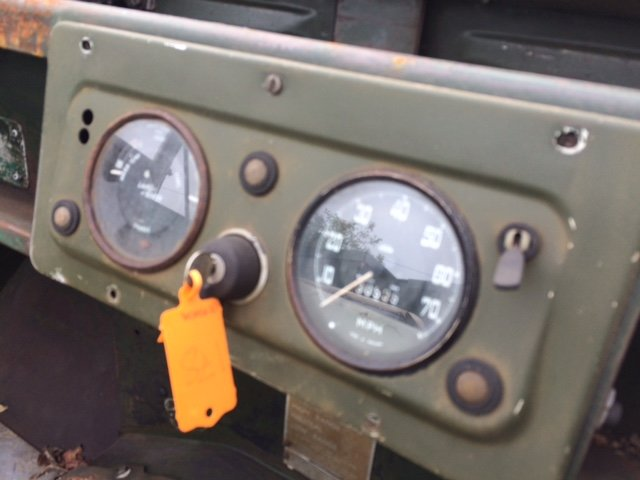 1955 Series 1 Land rover - Excellent Chassis, Bulkhead, Body For Sale (picture 5 of 6)