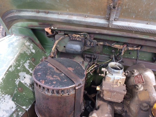 1955 Series 1 Land rover - Excellent Chassis, Bulkhead, Body For Sale (picture 6 of 6)