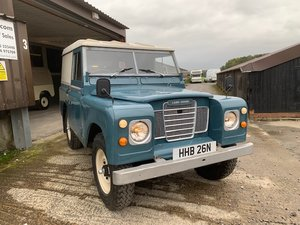 1975 Land Rover® Series 3 *200DI* (HHB) For Sale