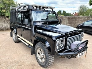 very high spec 2008 Defender 110 TDCi doublecab+just 64K SOLD