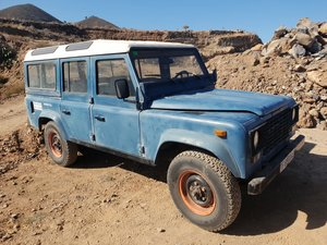 1989 SANTANA LAND ROVER 110 LHD For Sale