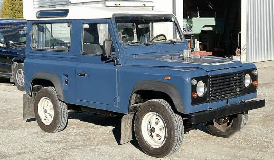 1989 Land Rover 90 HT LHD For Sale (picture 1 of 6)