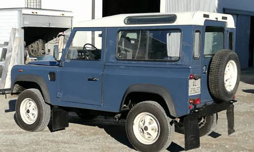 1989 Land Rover 90 HT LHD For Sale (picture 3 of 6)