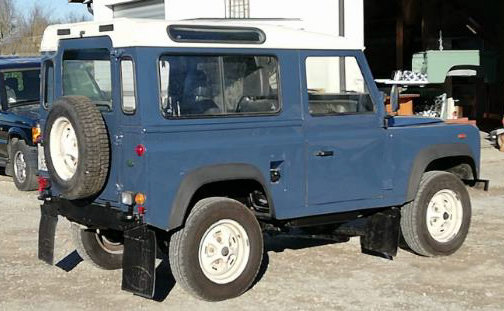 1989 Land Rover 90 HT LHD For Sale (picture 4 of 6)
