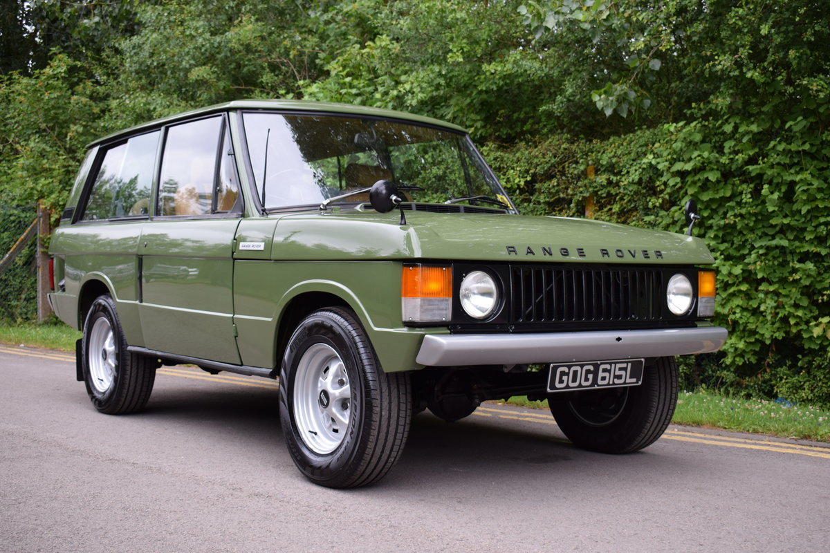 1972 RHD RANGE ROVER CLASSIC 2 DOOR SUFFIX A RESTORED TO R For Sale (picture 1 of 9)