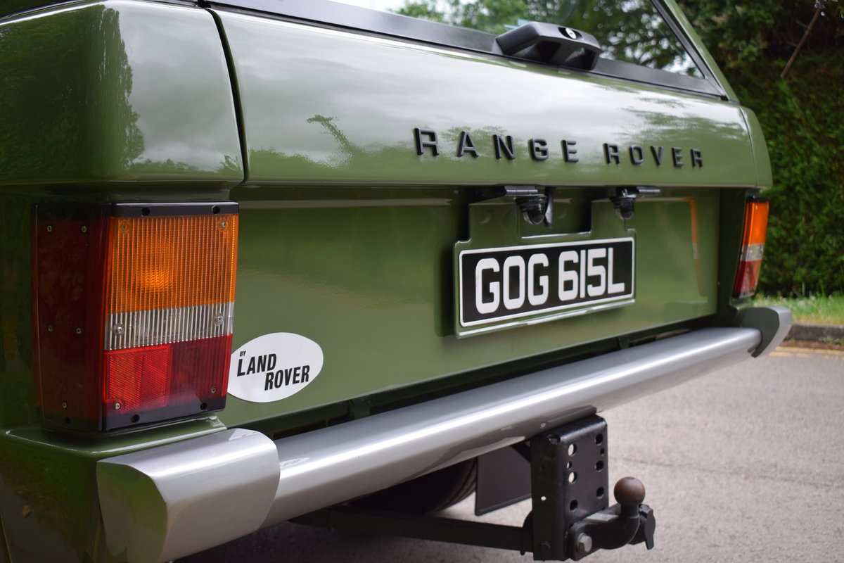 1972 RHD RANGE ROVER CLASSIC 2 DOOR SUFFIX A RESTORED TO R For Sale (picture 3 of 9)