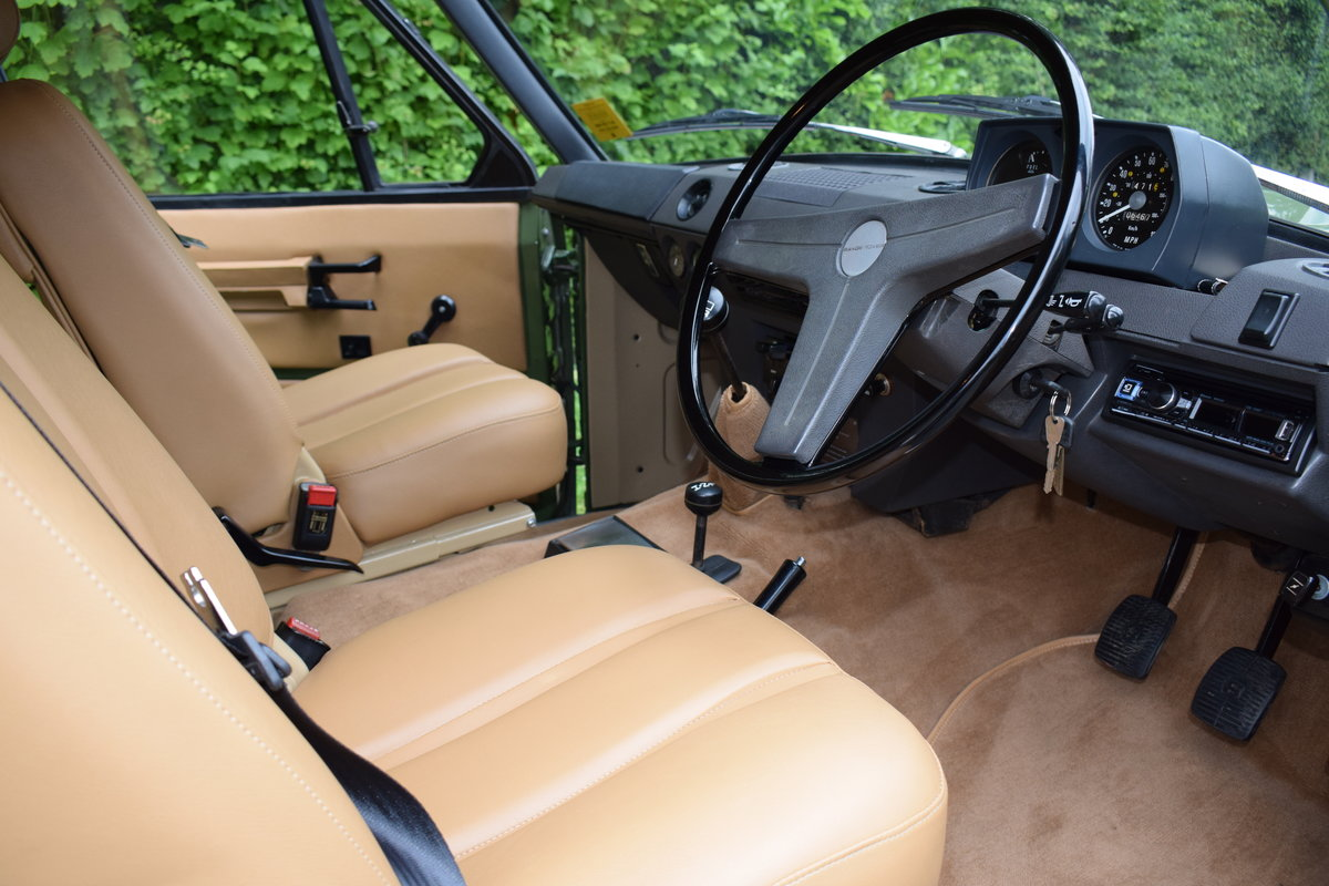 1972 RHD RANGE ROVER CLASSIC 2 DOOR SUFFIX A RESTORED TO R For Sale (picture 5 of 9)