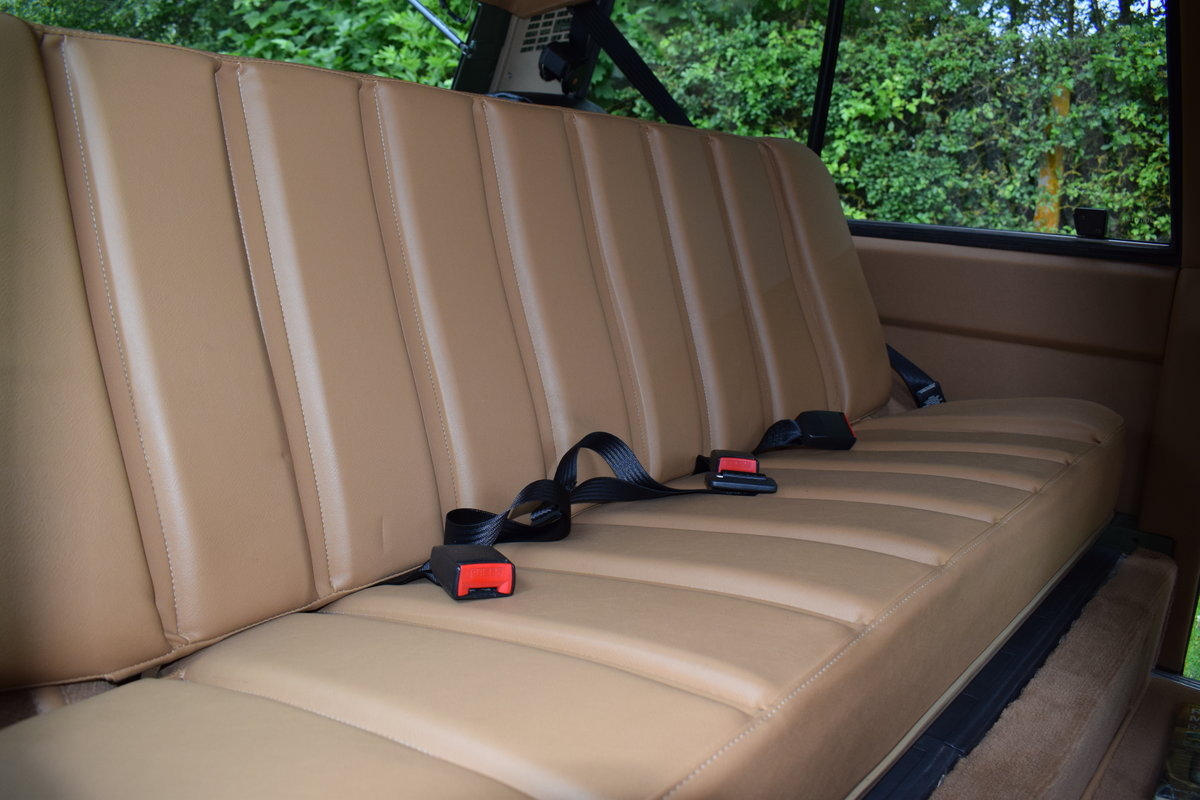 1972 RHD RANGE ROVER CLASSIC 2 DOOR SUFFIX A RESTORED TO R For Sale (picture 6 of 9)