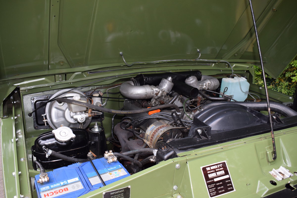 1972 RHD RANGE ROVER CLASSIC 2 DOOR SUFFIX A RESTORED TO R For Sale (picture 9 of 9)
