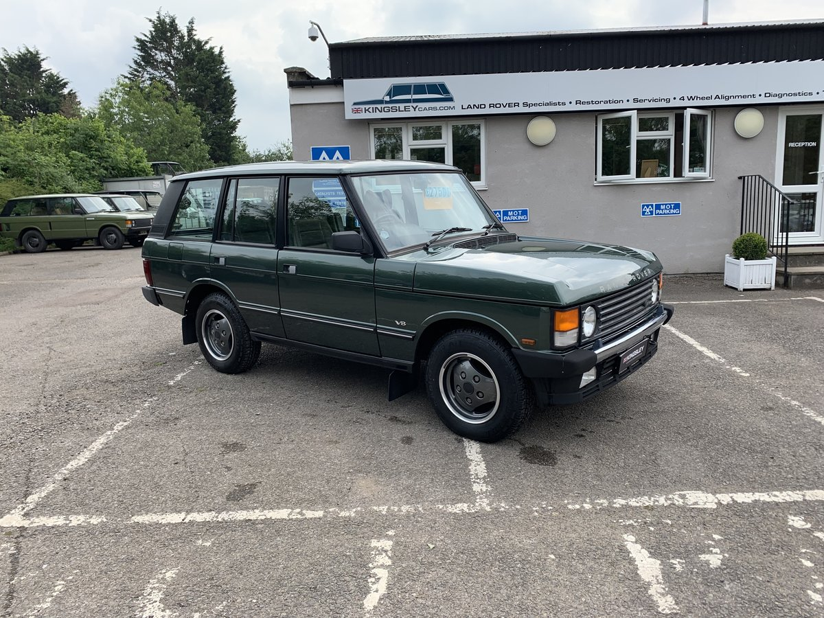 1992 RHD RANGE ROVER CLASSIC 3.9SE JAPANESE IMPORT WITH 72K  For Sale (picture 1 of 12)