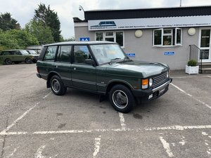 1992  RHD RANGE ROVER CLASSIC 3.9SE JAPANESE IMPORT WITH 72K