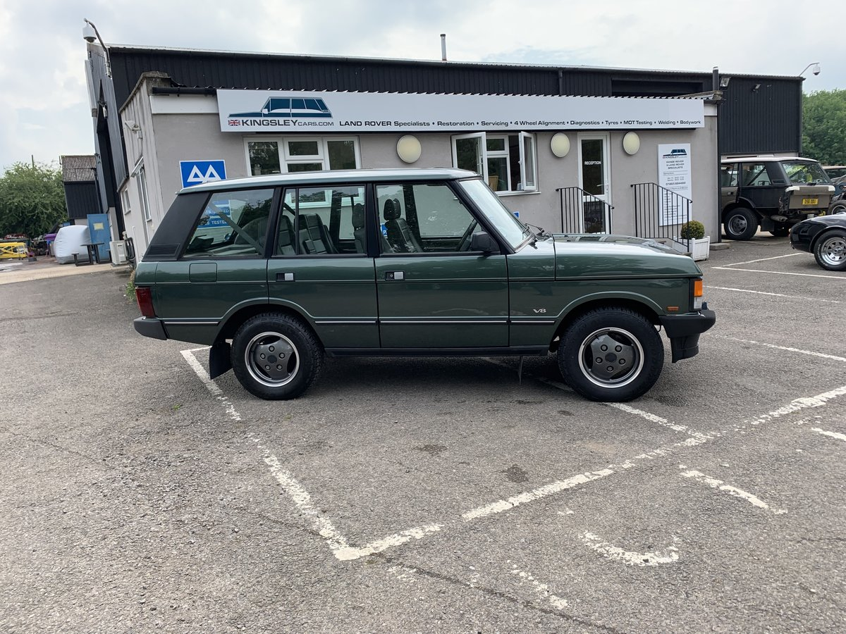 1992 RHD RANGE ROVER CLASSIC 3.9SE JAPANESE IMPORT WITH 72K  For Sale (picture 2 of 12)
