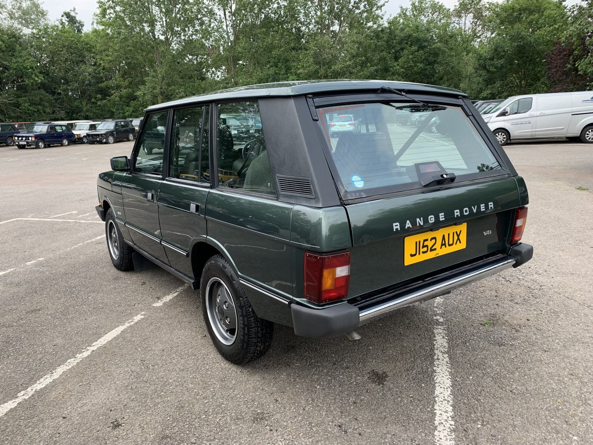 1992 RHD RANGE ROVER CLASSIC 3.9SE JAPANESE IMPORT WITH 72K  For Sale (picture 4 of 12)