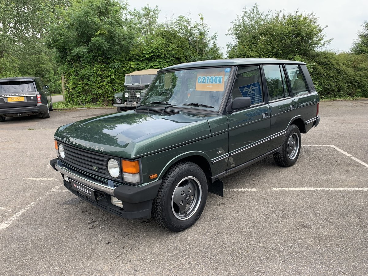 1992 RHD RANGE ROVER CLASSIC 3.9SE JAPANESE IMPORT WITH 72K  For Sale (picture 6 of 12)