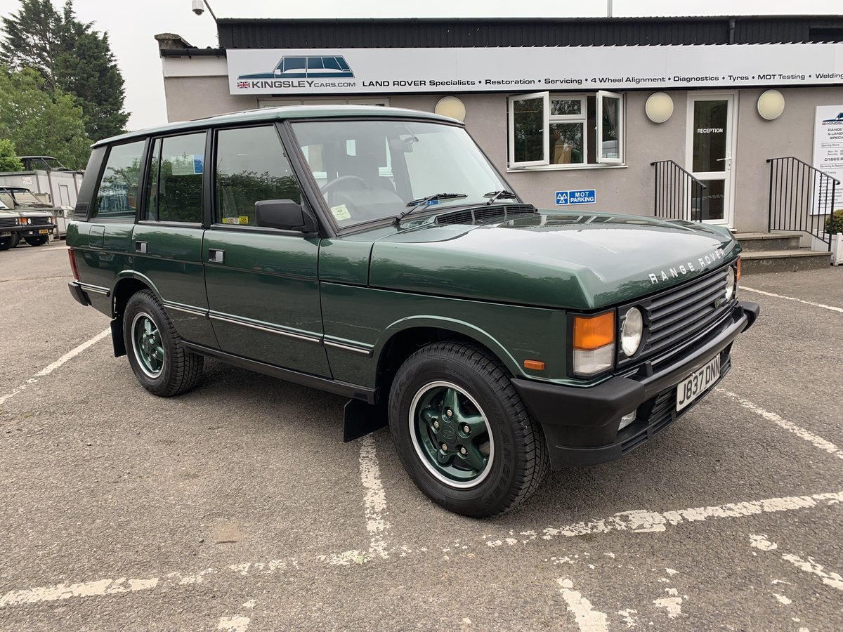 1992 RHD RANGE ROVER CLASSIC 3.9I?—?ONLY 40K MILES FROM NEW  For Sale (picture 1 of 20)