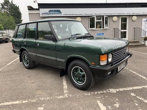 1992  RHD RANGE ROVER CLASSIC 3.9I?—?ONLY 40K MILES FROM NEW