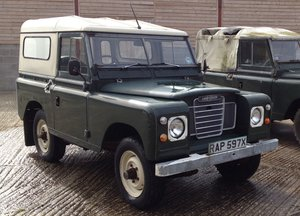 1981 Land Rover Series 3 SWB Hardtop In very original For Sale